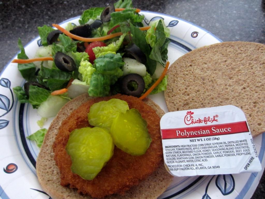 Chick-fil-A chicken sandwich alternative