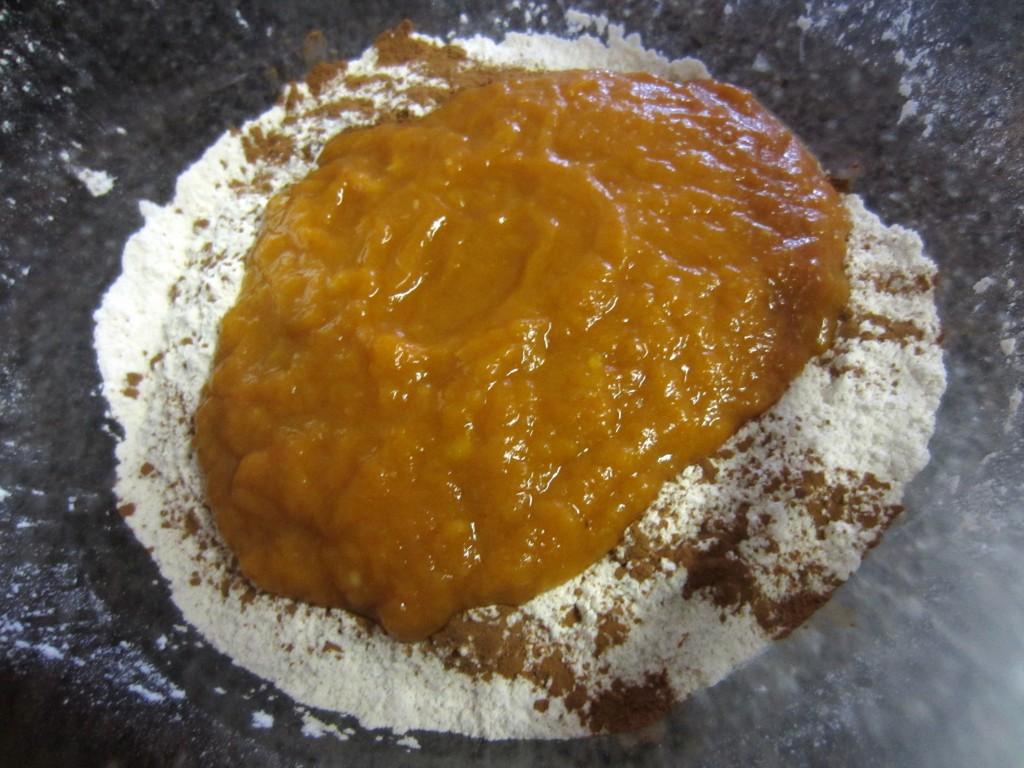 Mixing baking ingredients