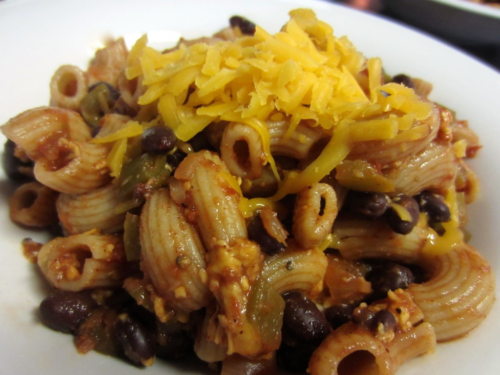 Skinny Tex Mex Macaroni and Cheese