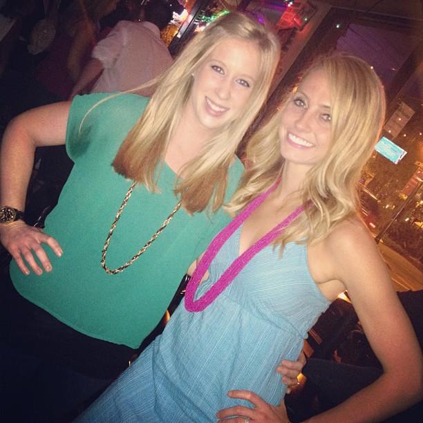 Ashley and I downtown Orlando
