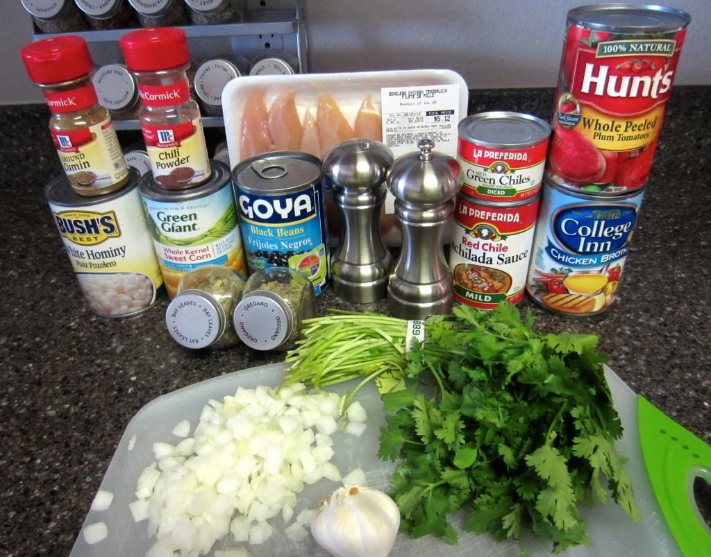 Chicken Tortilla Soup Ingredients