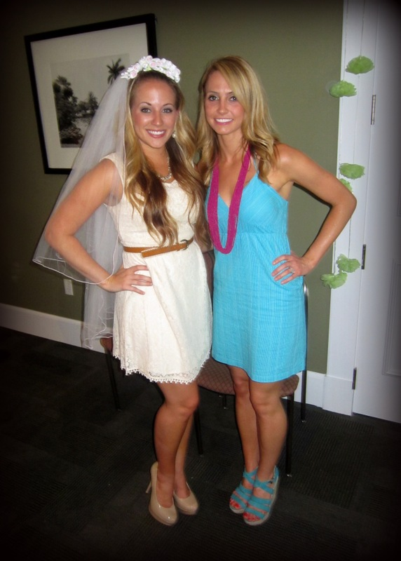 me and the bride to be at bridal shower