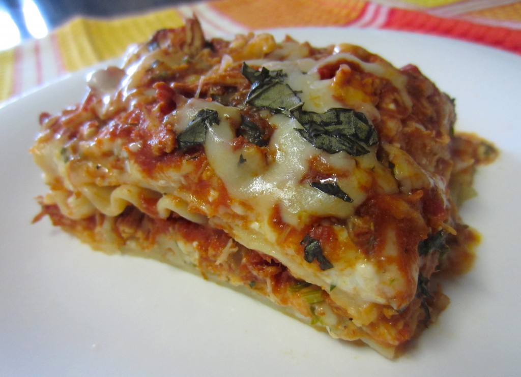 Shredded Chicken Lasagna