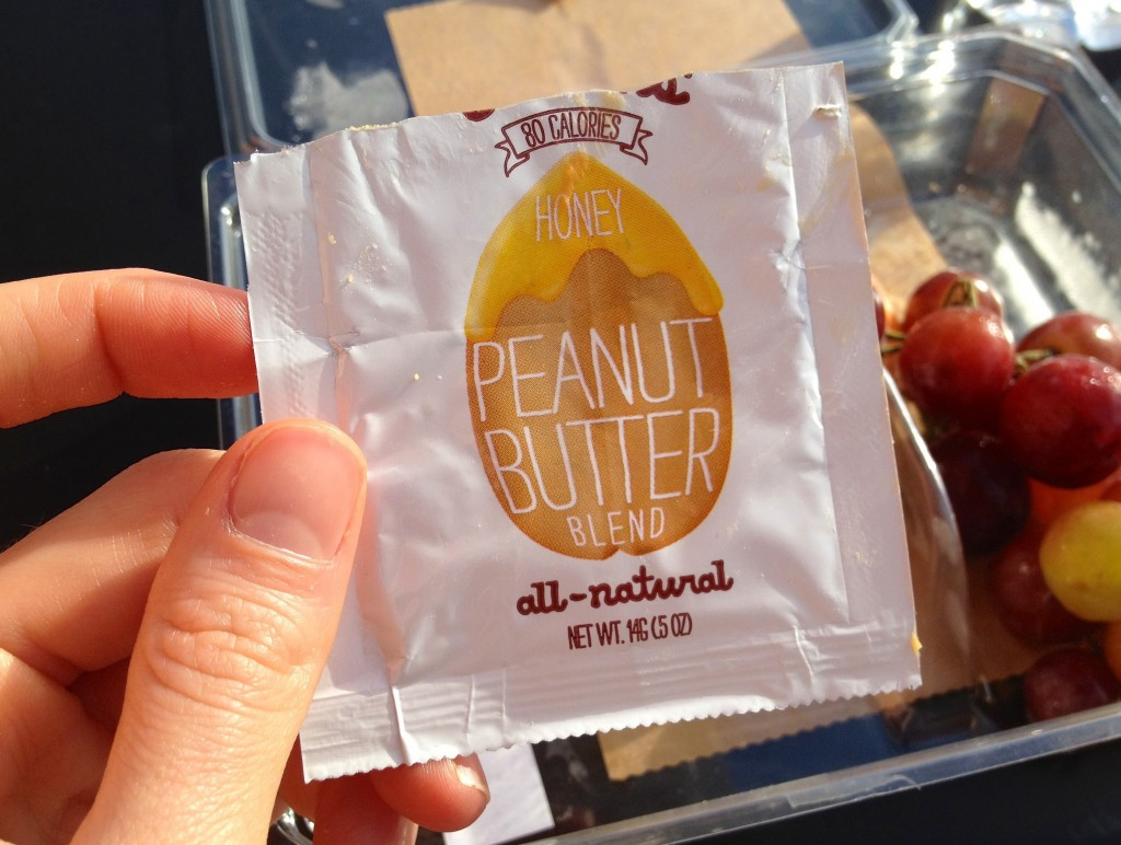 Justins Honey Peanut Butter Packet Starbucks