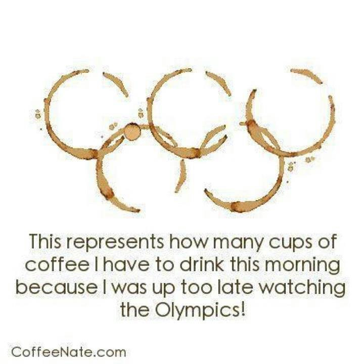 Staying Up too Late Olympics
