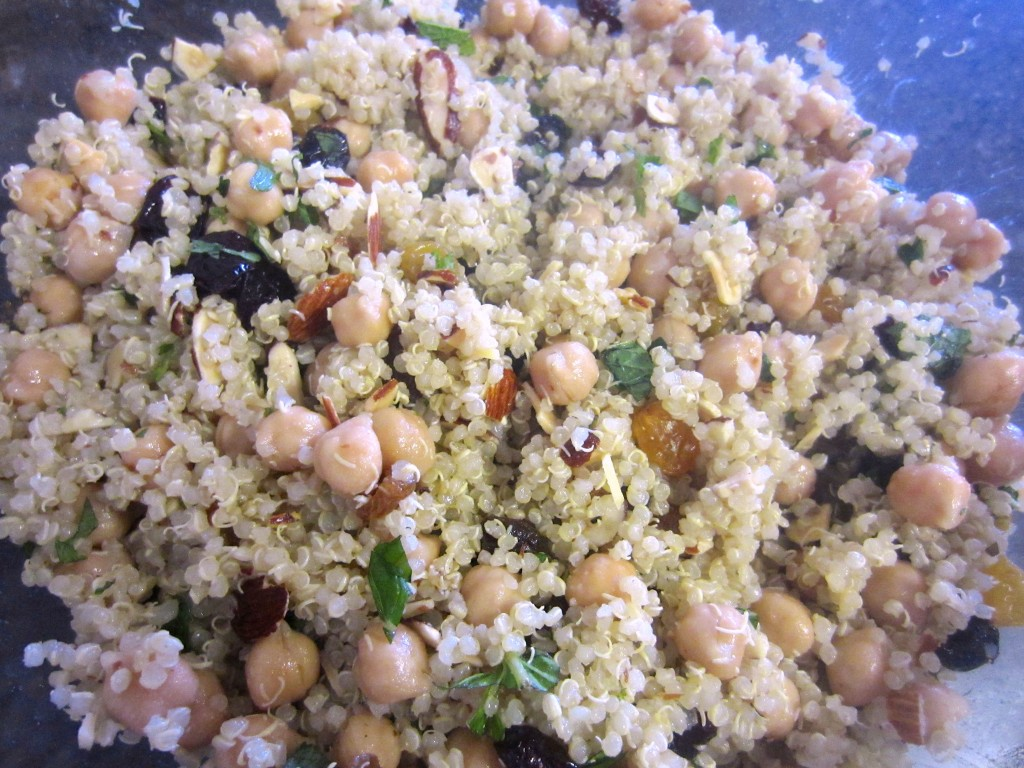 Summer Quinoa salad cooled