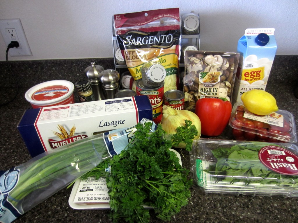 chicken lasagna ingredients