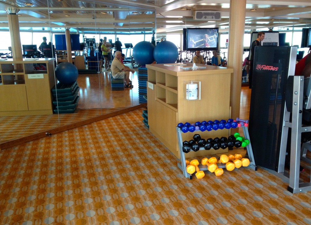 Cruise Gym, Royal Caribbean