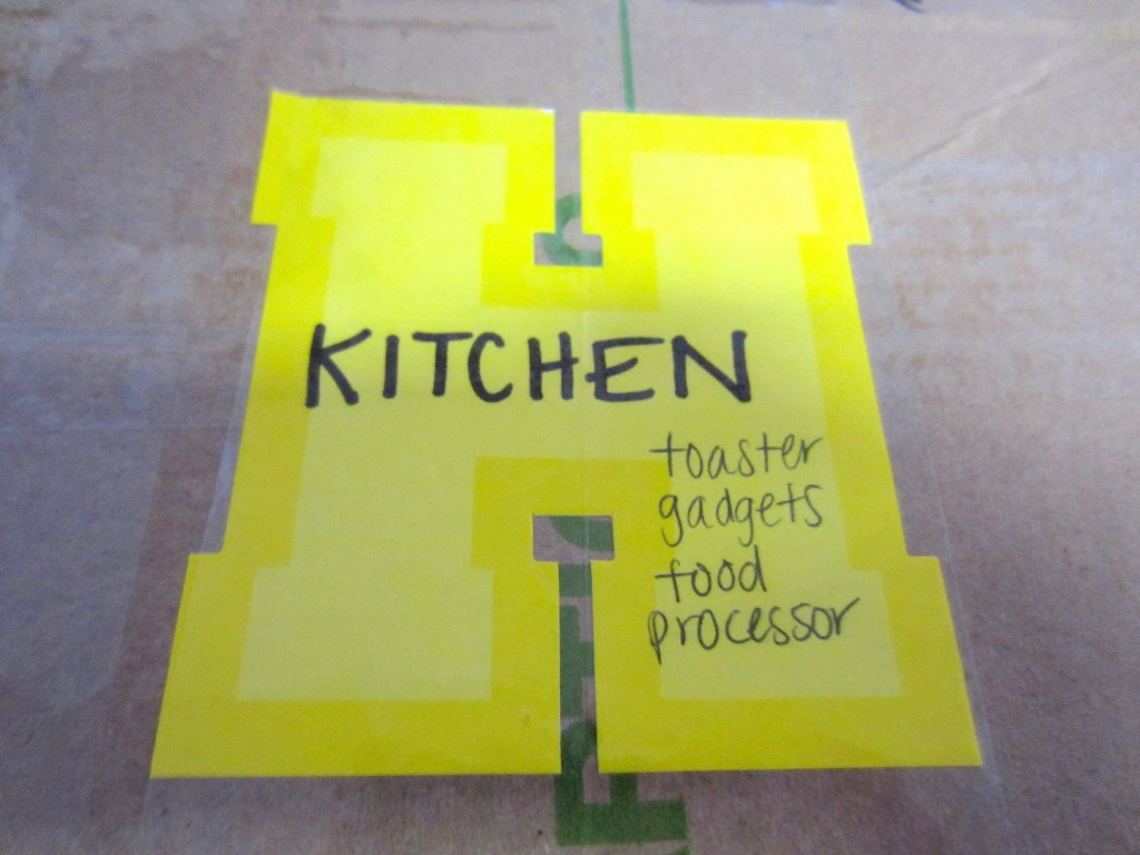 Easy way to label boxes