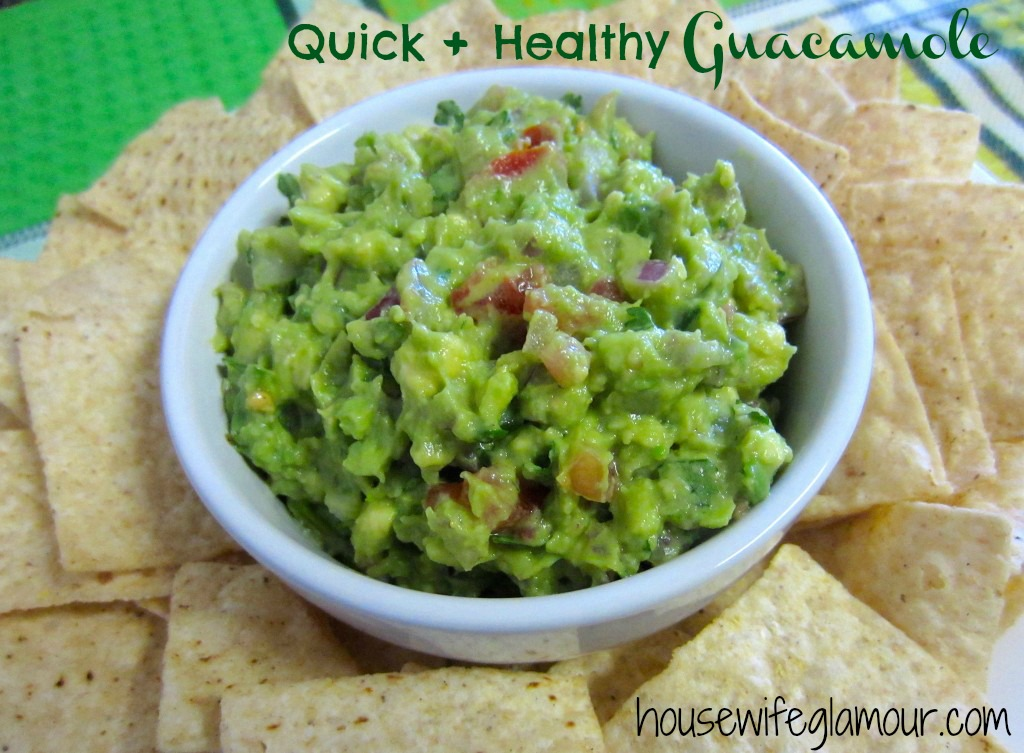 Healthy and Easy Guacamole