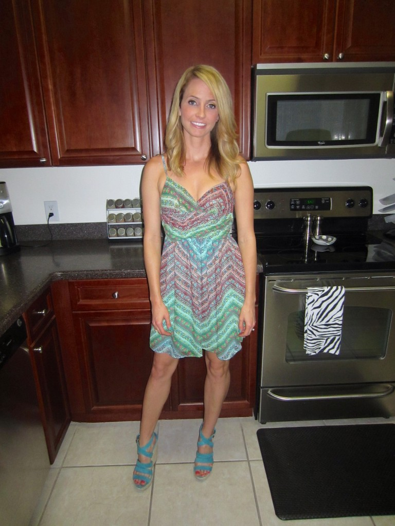 Teal Sundress Urban Outfitters