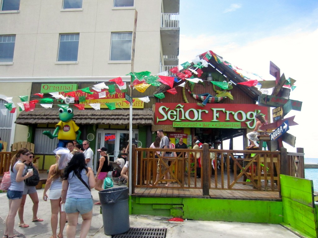 Senor Frogs, Bahams