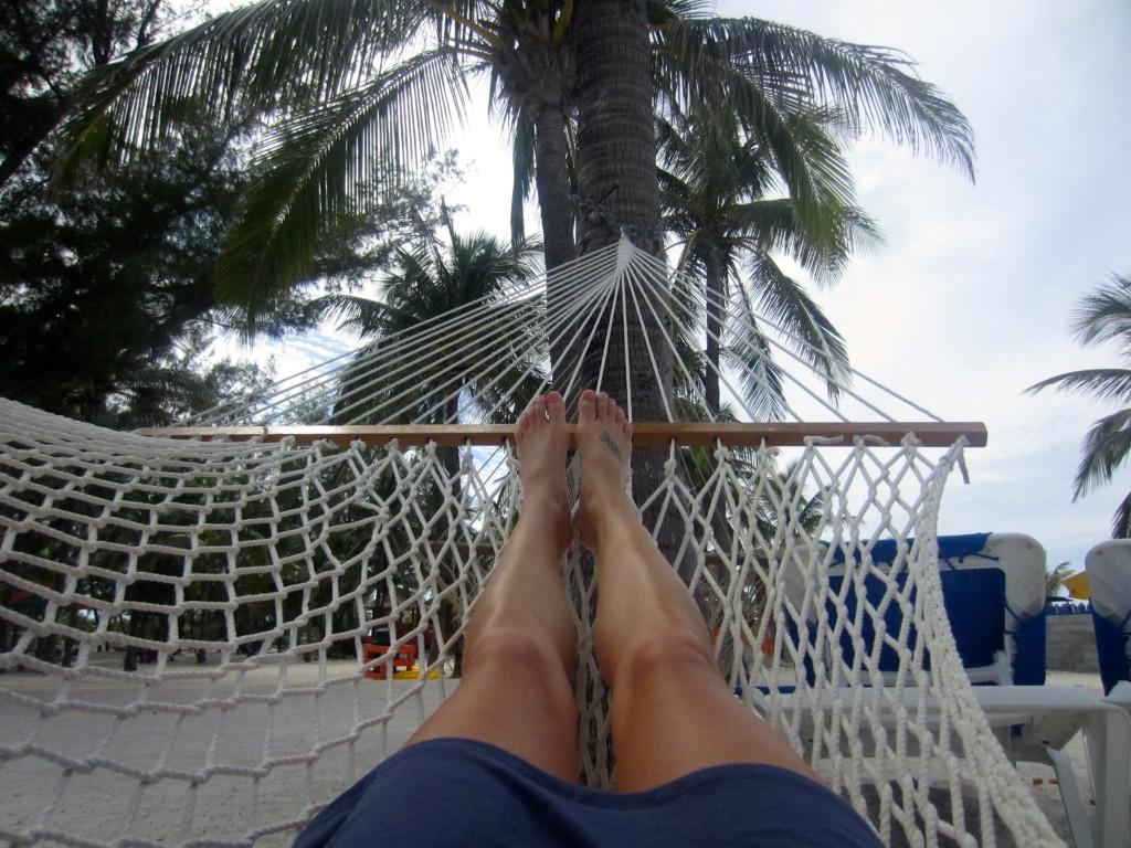 Hammocks in Cocoa Cay