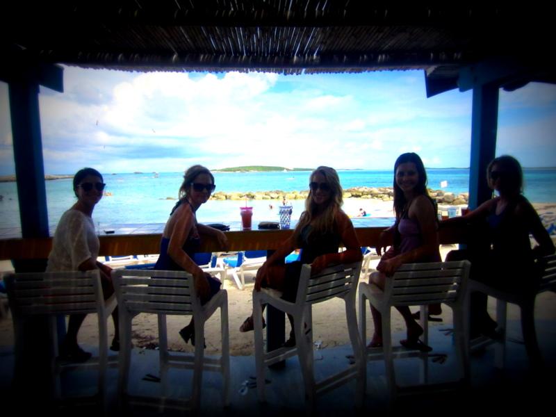 Coco Cay, Bahamas girls