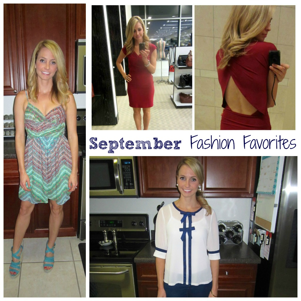 September Fashion Favorites Collage