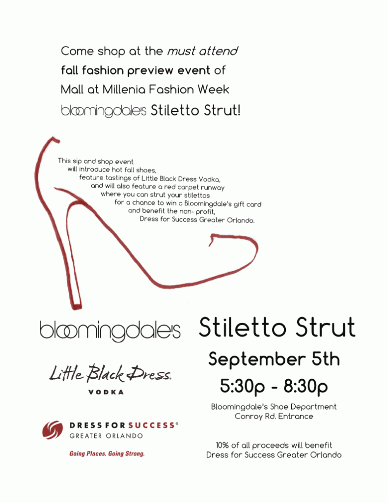 Stiletto Strut Dress for Success