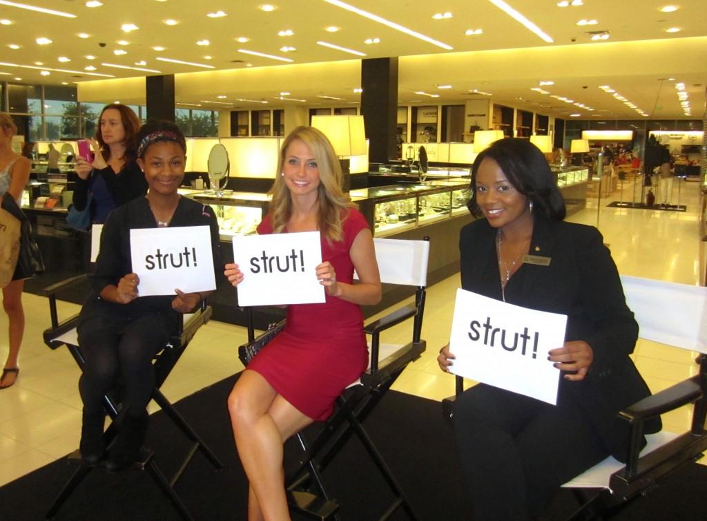 Stiletto Strut Judges