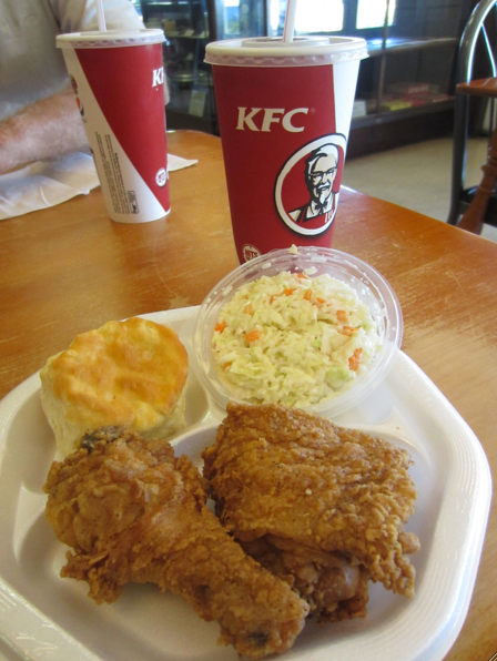 Colonel Sanders Cafe Original KFC recpie