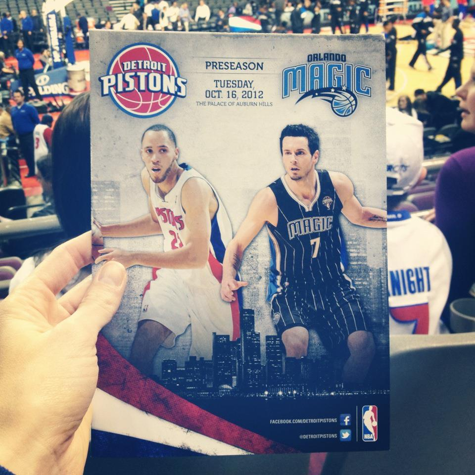 Detroit Pistons vs Orlando Magic