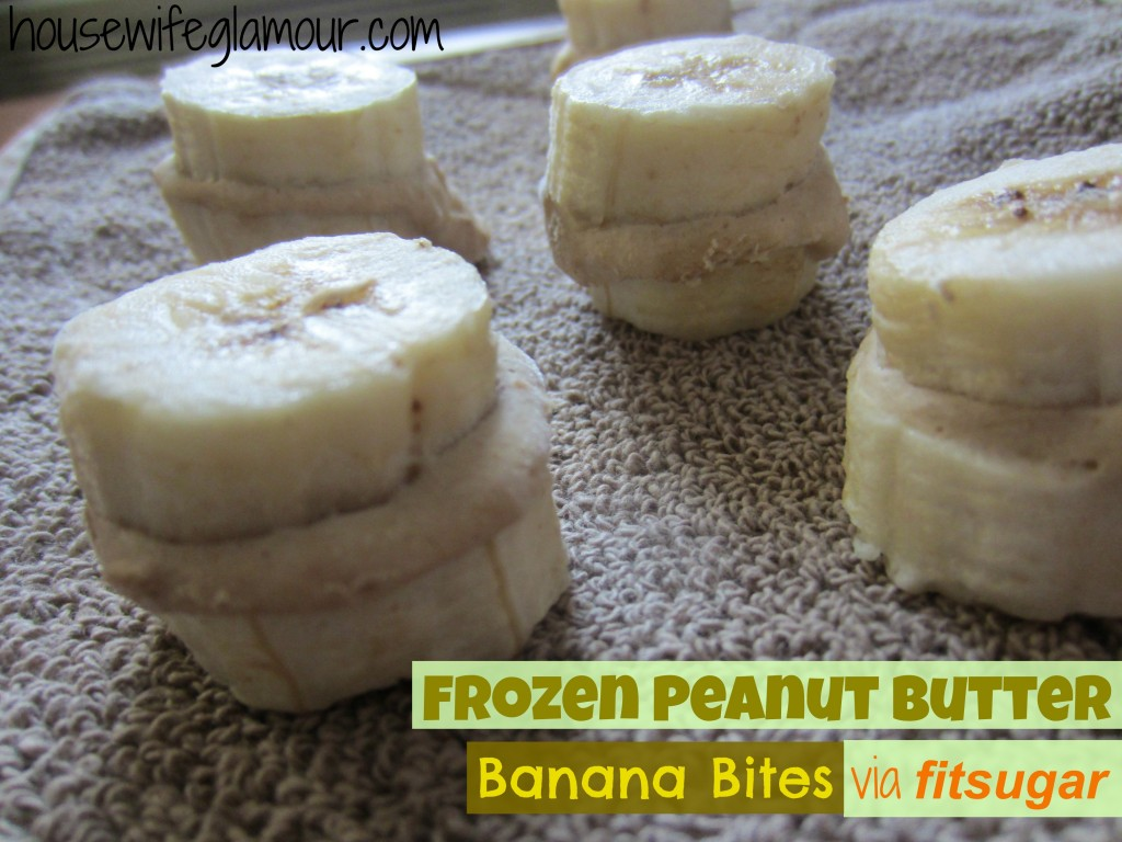 Frozen Peanut Butter Banana Bites Cover