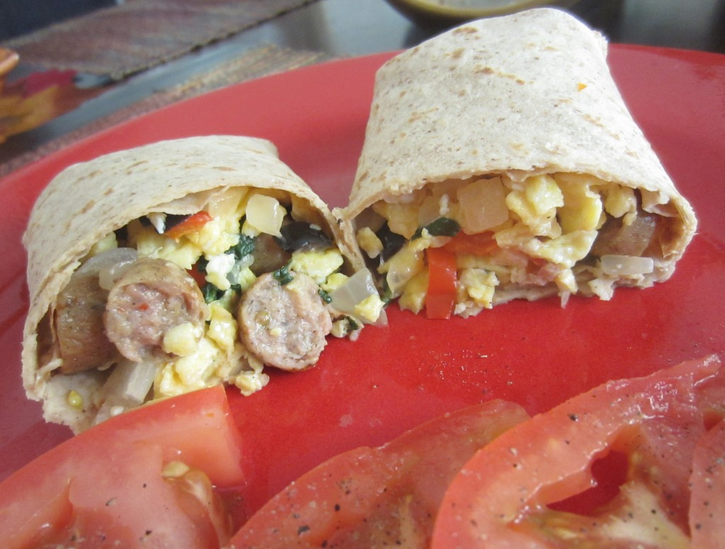 Greek Power Breakfast Wrap