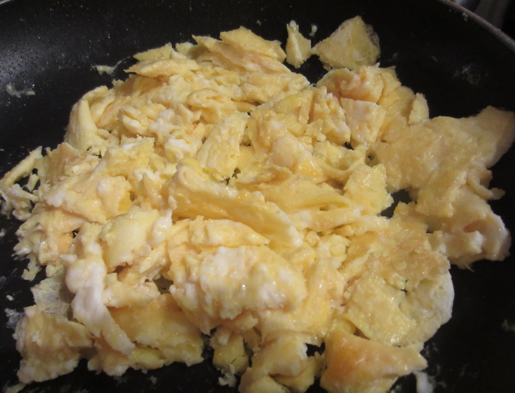 Scrambled Eggs for Wrap