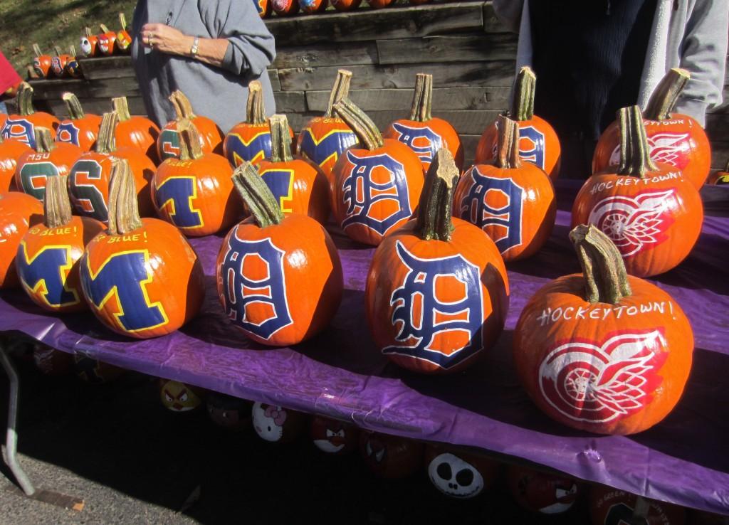 Sports Teams Pumpkins