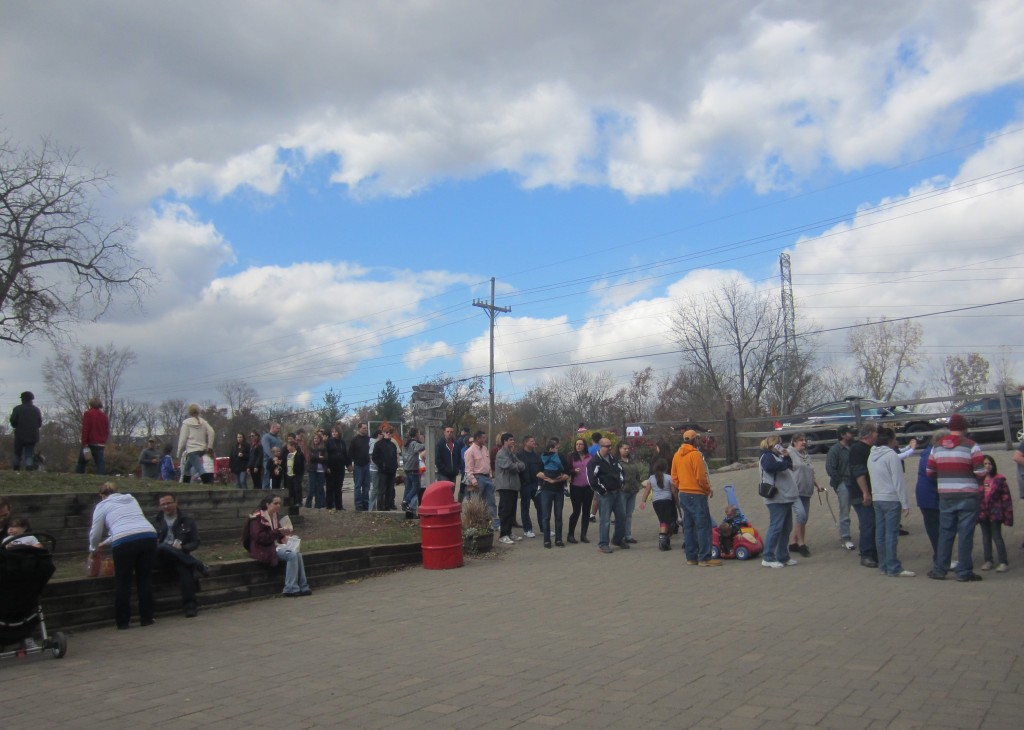Yates Cider Mill long line