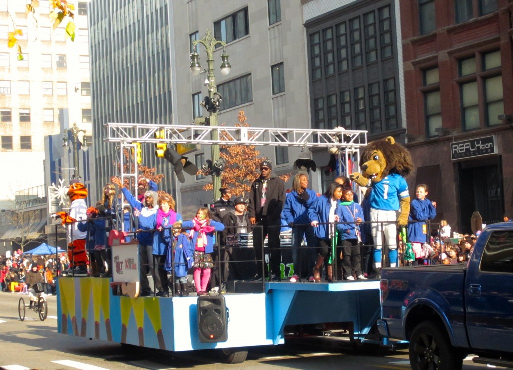 Detroit Sports Teams Float