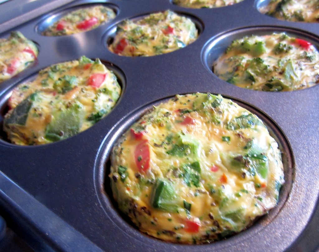 Egg White Muffins out of oven