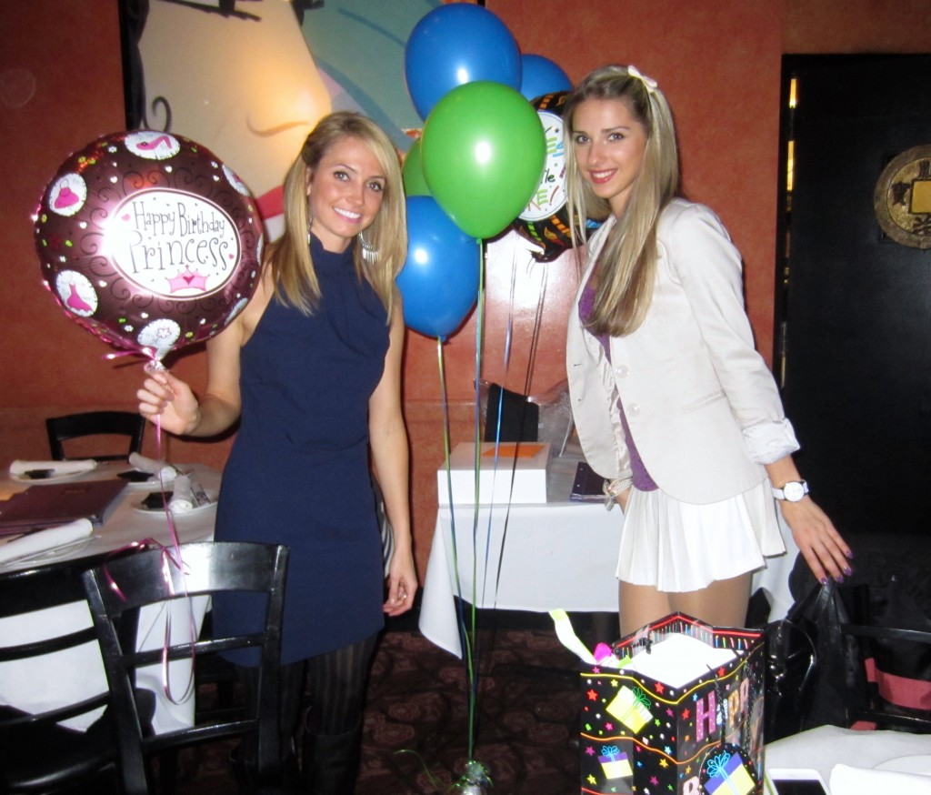 Birthday surprise balloons