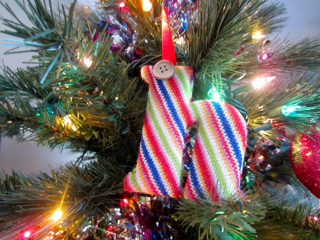 letter ornament from kirklands