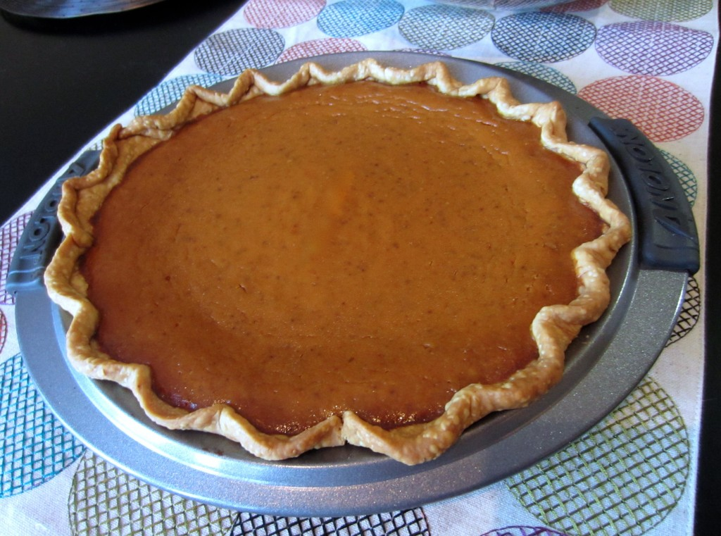 Pumpkin Pie with Libbys