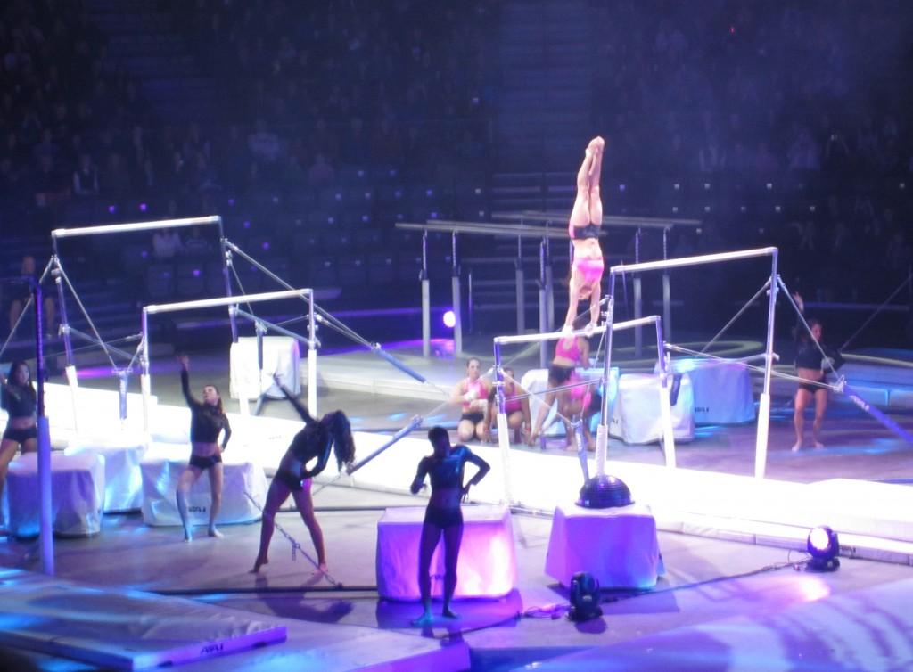 Tour of Champions girls performance