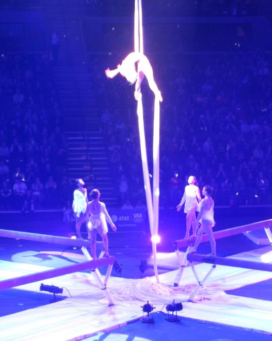 Womens Gymnastics Tour of Champions show
