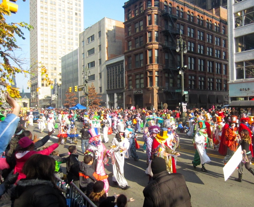 clowns in parade