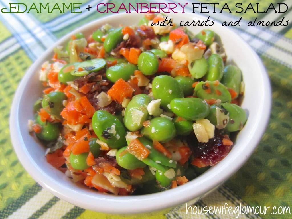 edamame and cranberry feta salad cover