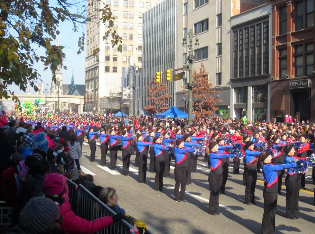 parade pom pons