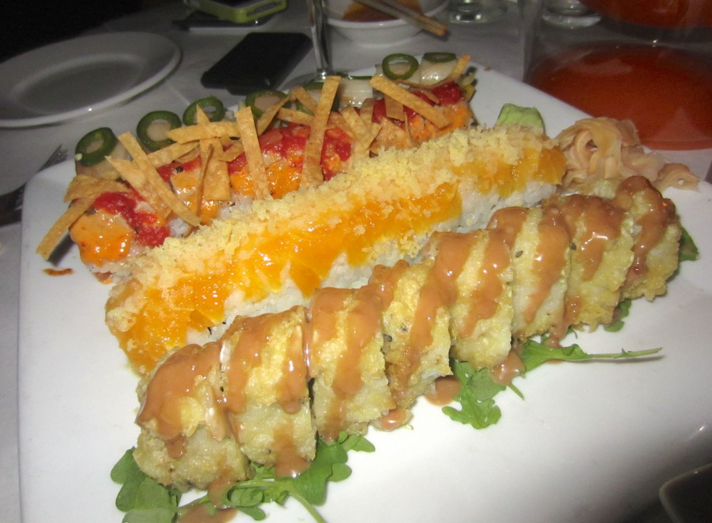 sushi plate for birthday