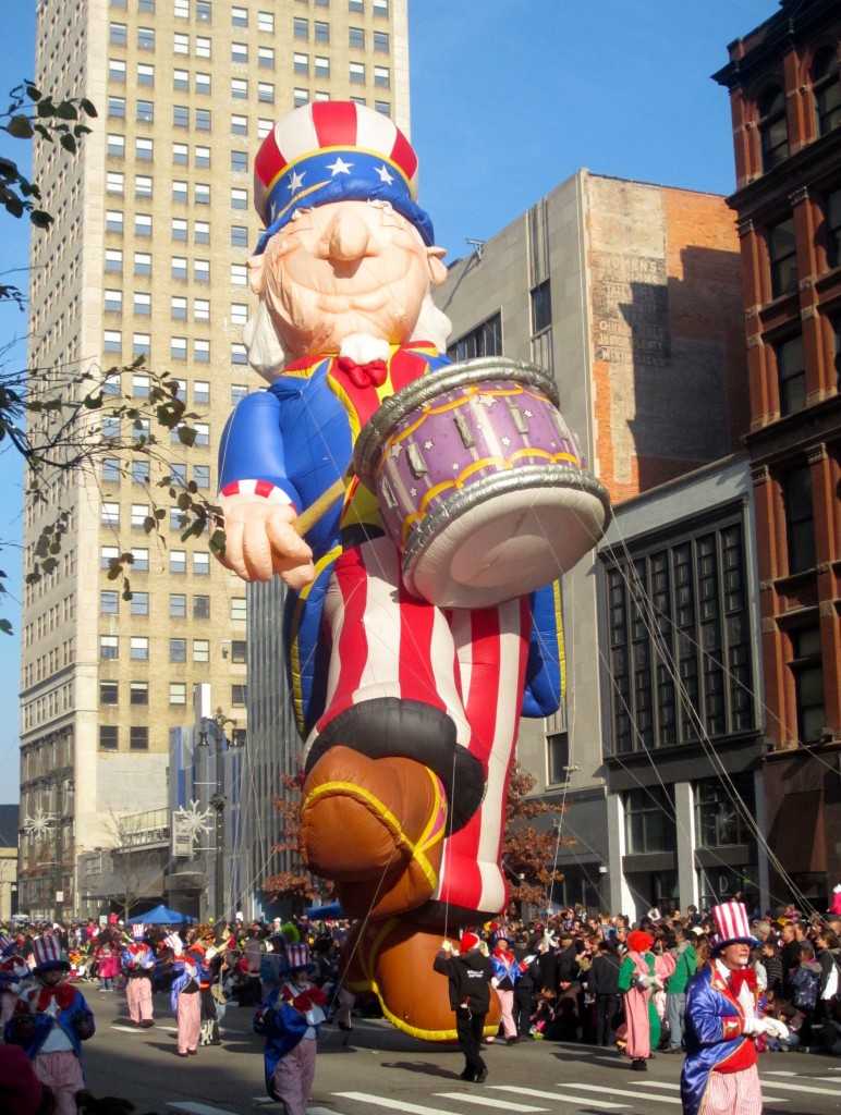 uncle sam float