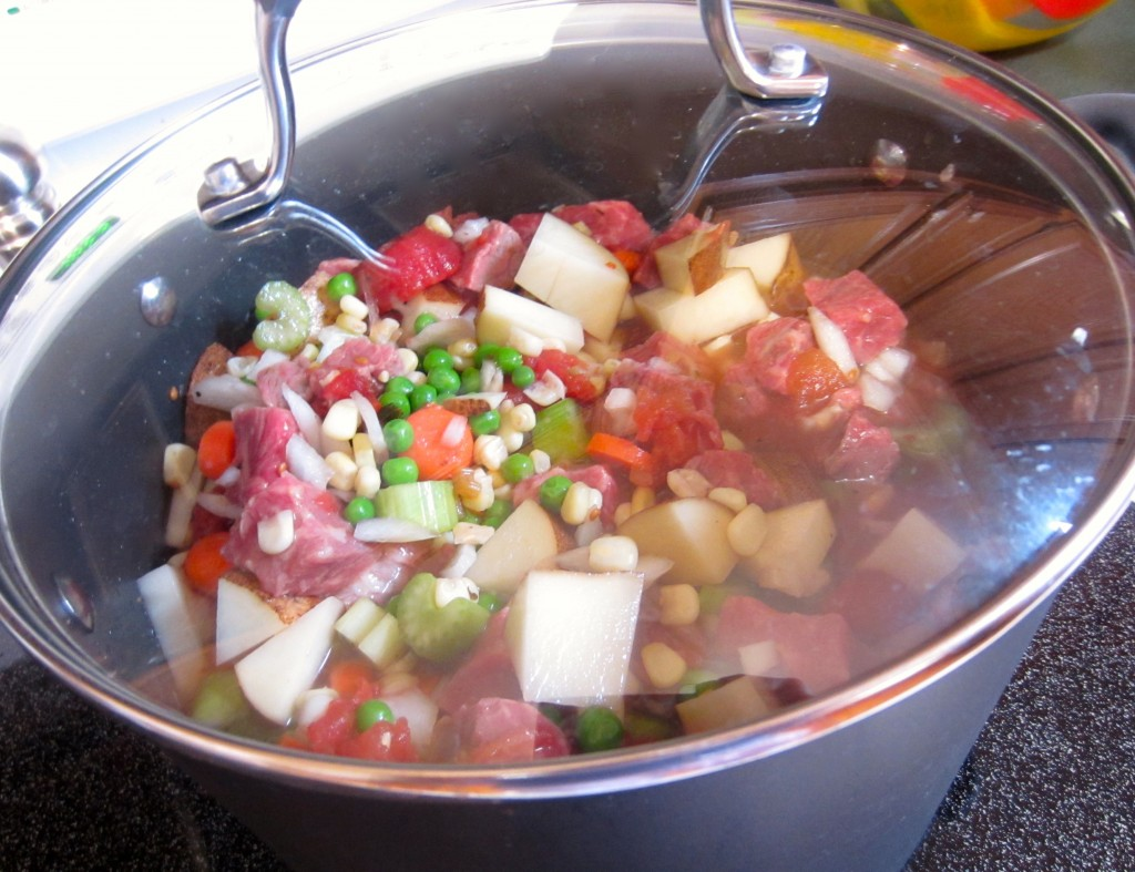 Beef Stew cooking