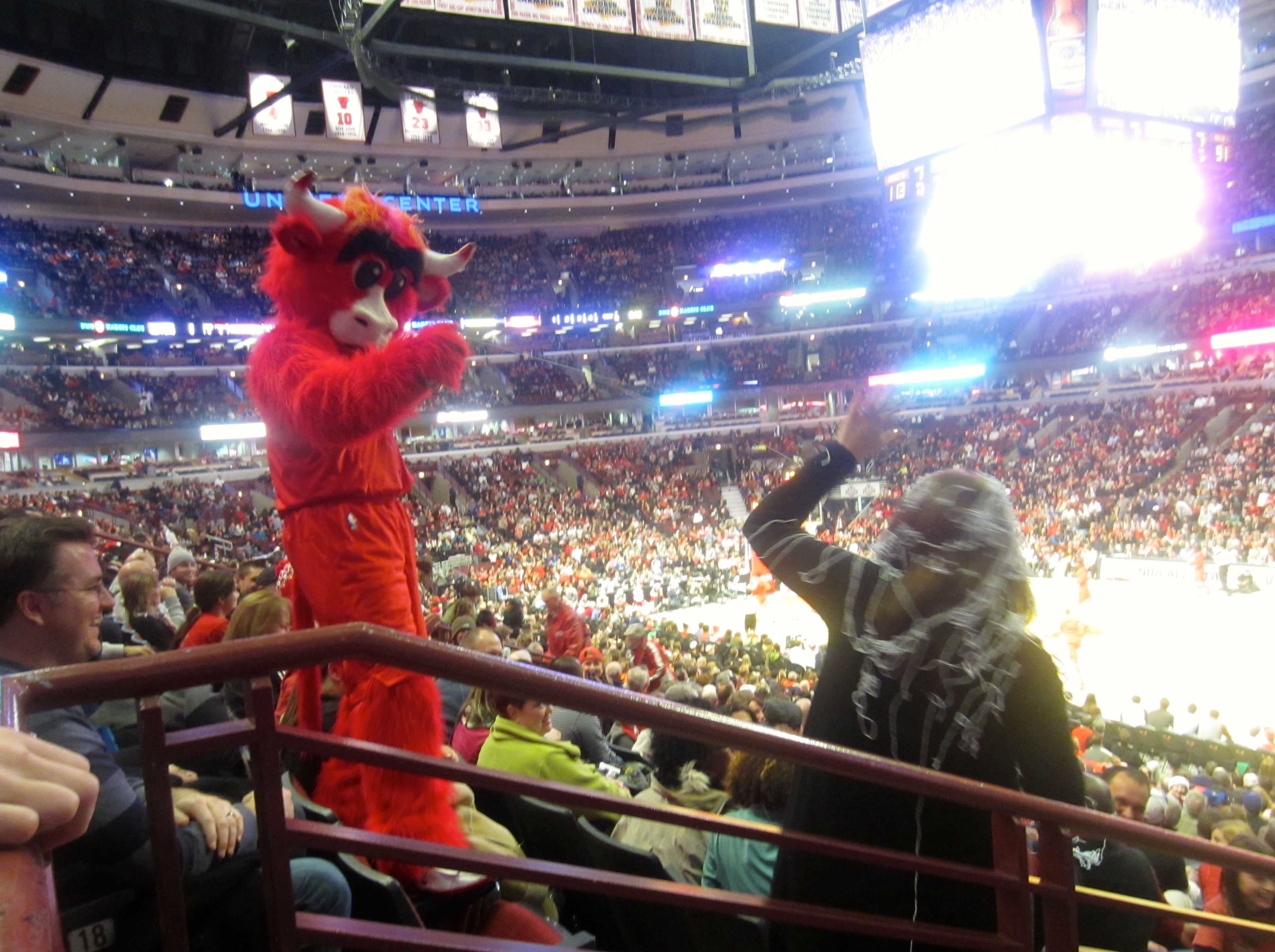 Benny the Bull silly string