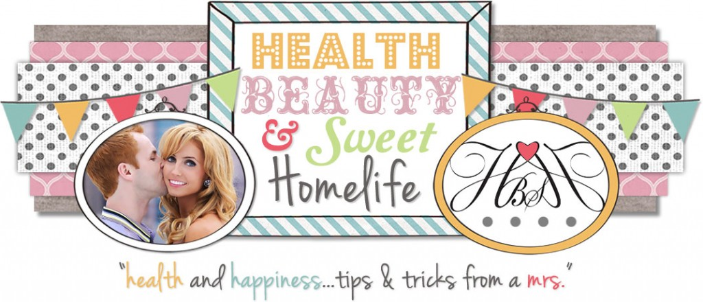 Health Beauty & Sweet Homelife Banner