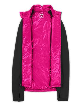 Women's Warm Winter Jacket isolated inside