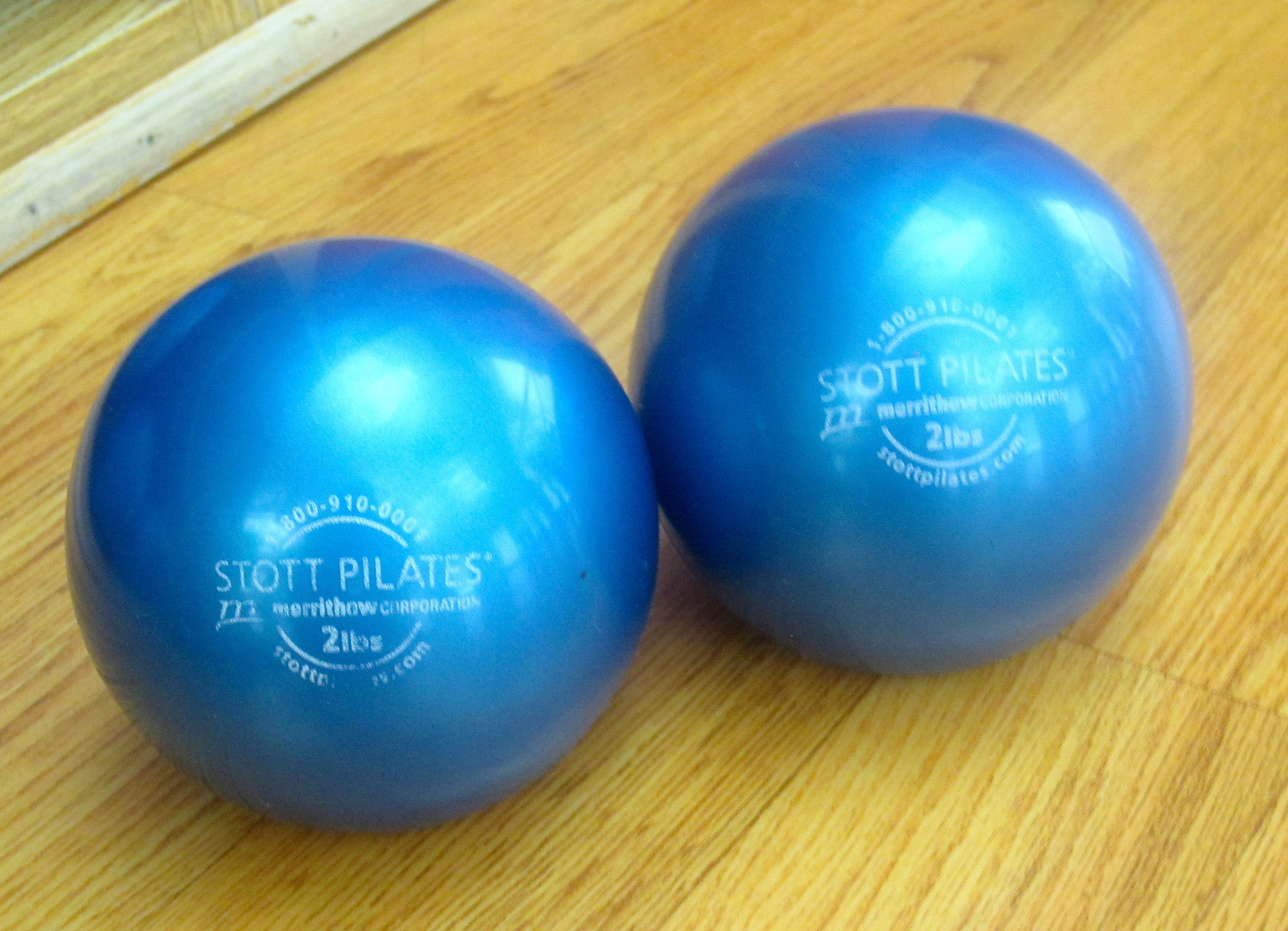 Stott pilates weights
