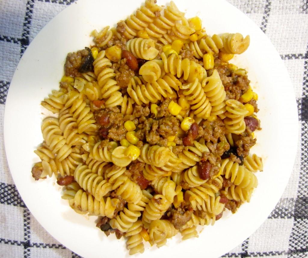 chili rotini noodles
