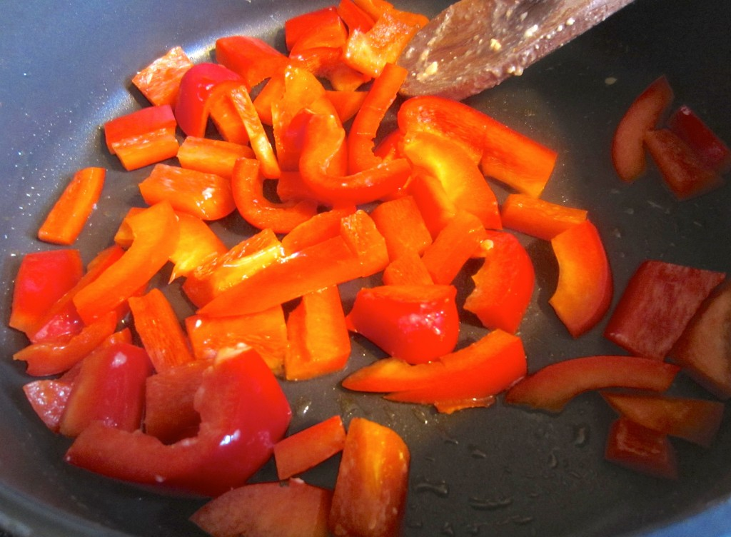 cooking peppers stove top