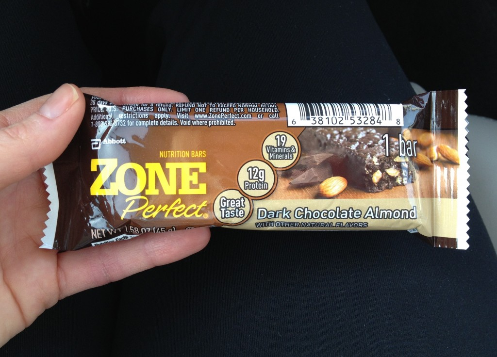 Zone Perfect Bar Dark Chocolate Almond