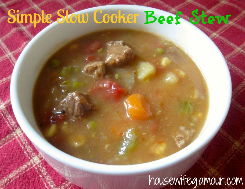 simple slow cooker beef stew cover