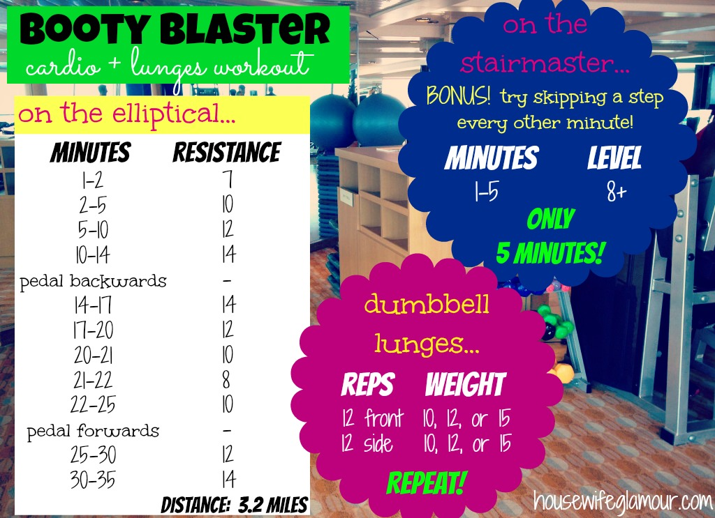 Booty Blaster Cardio and